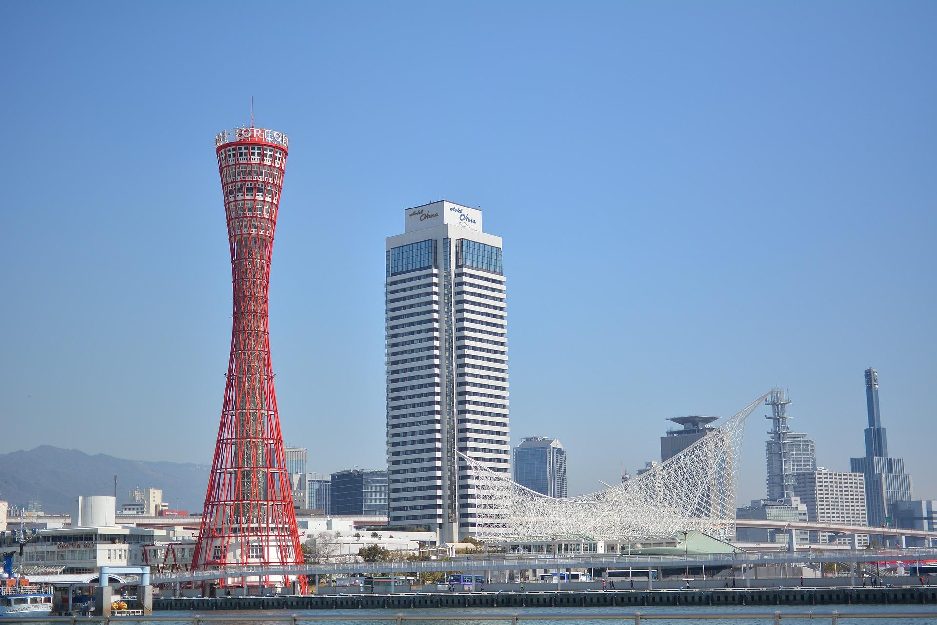 神戸市のハーバーランドの画像