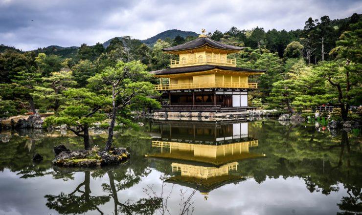 京都市の金閣寺の画像